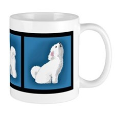 Smiling Bichon Coffee Mug