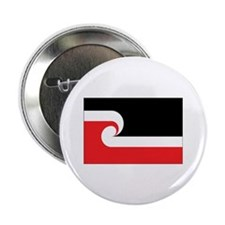 "Maori Flag 2.25"" Button (100 pack)"