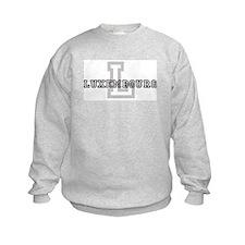 Letter L: Luxembourg Sweatshirt