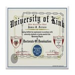 University of Kink Tile Coaster