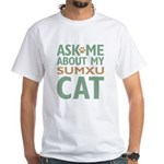 Sumxu Cat White T-Shirt