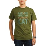 Sumxu Cat Organic Men's T-Shirt (dark)