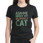 Sumxu Cat Women's Dark T-Shirt