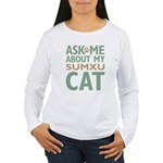Sumxu Cat Women's Long Sleeve T-Shirt