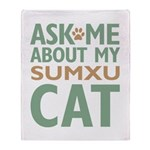 Sumxu Cat Throw Blanket