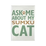 Sumxu Cat Rectangle Magnet (100 pack)