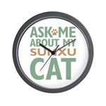 Sumxu Cat Wall Clock