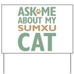 Sumxu Cat Yard Sign