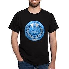 El Salvador Seal Black T-Shirt