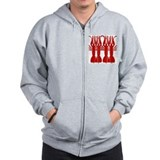 Crawfish Tile Wall Mural Zip Hoodie
