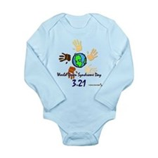 World Down Syndrome Day Long Sleeve Onesie