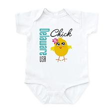 Delaware Chick Infant Bodysuit