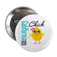"California Chick 2.25"" Button (10 pack)"