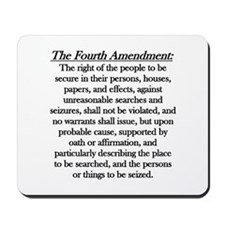 Fourth Amendment Mousepad