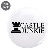 "Castle Junkie 3.5"" Button (10 pack)"