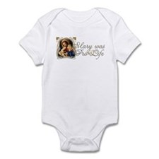Mary was Pro-Life Infant Bodysuit