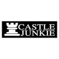 Castle Junkie Sticker (Bumper)