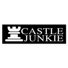 Castle Junkie Bumper Sticker