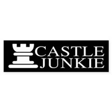 Castle Junkie Car Sticker