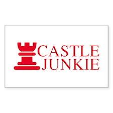 Castle Junkie Sticker (Rectangle)
