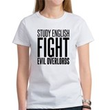 Study and Fight (English) Tee