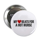 "My Heart Beats for a Drummer 2.25"" Button"