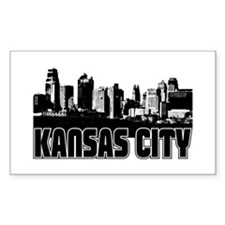 Kansas City Skyline Decal