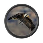 Fly By Large Wall Clock