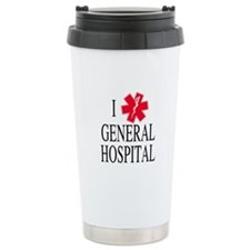 I Love General Hospital Stainless Steel Travel Mug