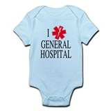 I Love General Hospital Infant Bodysuit