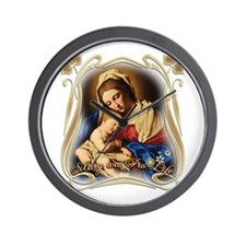Mary was Pro-Life Wall Clock