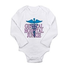 General Hospital Junkie Long Sleeve Infant Bodysui