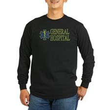General Hosptial Long Sleeve Dark T-Shirt