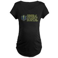 General Hosptial Maternity Dark T-Shirt