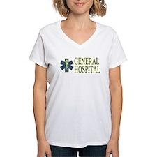 General Hosptial Women's V-Neck T-Shirt