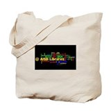 Support School Libraries Tote Bag
