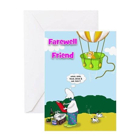 Gifts Boots Greeting Cards Funny Farewell Friend Card
