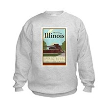 Travel Illinois Sweatshirt