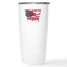 Organize for POWER Travel Mug