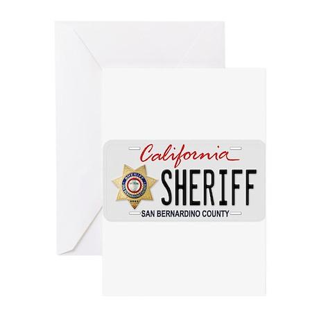 San Bernardino Sheriff Greeting Cards (Pk of 10)