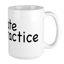 private practice Large Mug