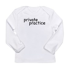 private practice Long Sleeve Infant T-Shirt