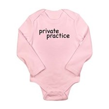 private practice Long Sleeve Infant Bodysuit