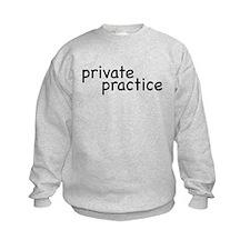 private practice Kids Sweatshirt