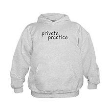 private practice Kids Hoodie