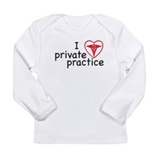 I Love Private Practice Long Sleeve Infant T-Shirt