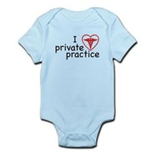 I Love Private Practice Infant Bodysuit