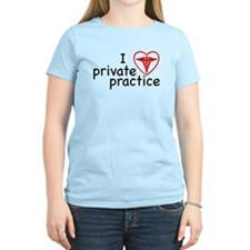 I Love Private Practice Women's Light T-Shirt