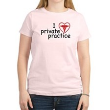 I Love Private Practice Women's Light T-Shirt