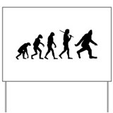 The Evolution Of Bigfoot Yard Sign